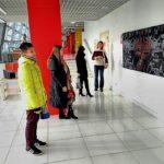"""Выставка """"Молодая Сибирь"""" в галерее """"Енисей""""."""