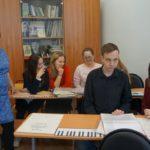 Производственная практика учащихся Колледжа искусств им. П. И. Иванова-Радкевича.