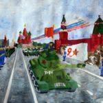 """Международный конкурс детского рисунка """"Они сражались за Родину...""""."""